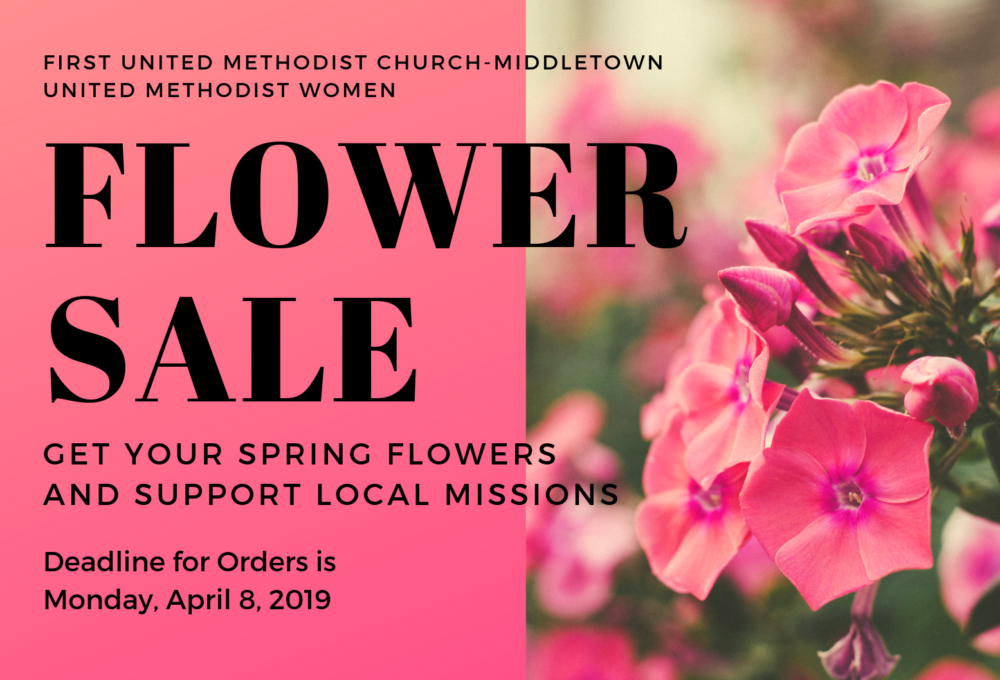 UMW Flower Sale